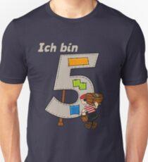 Birthday Shirt 5 Years Boy Pirate Unisex T