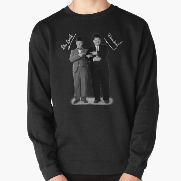 Stan Laurel and Oliver Hardy Pullover Sweatshirt