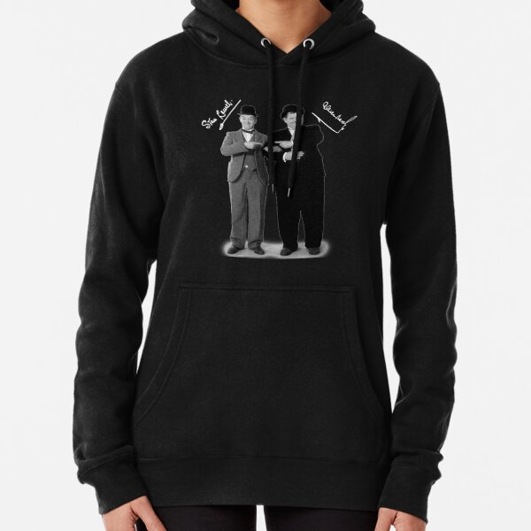 Stan Laurel and Oliver Hardy Pullover Hoodie
