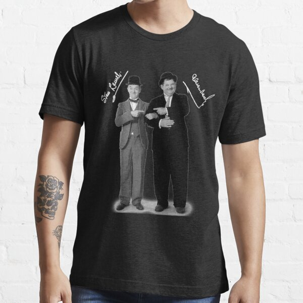Stan Laurel and Oliver Hardy Essential T-Shirt