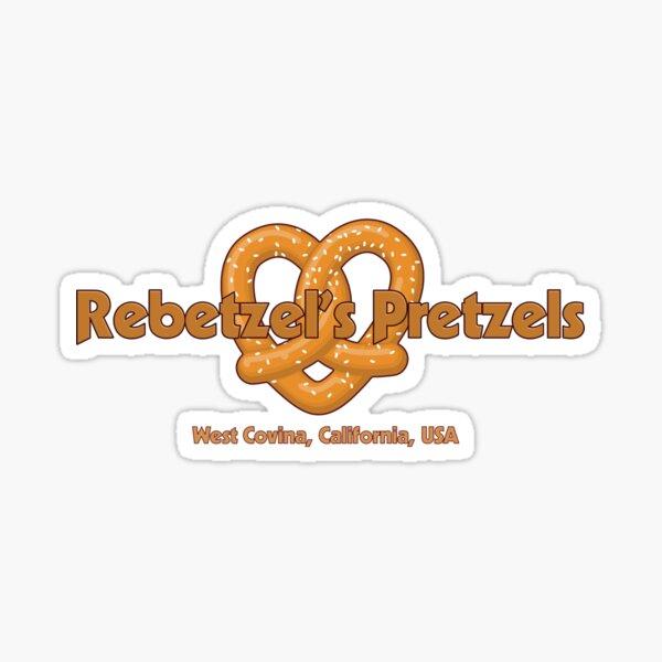 Rebetzel's Pretzels - Inspired by Crazy Ex-Girlfreind Sticker