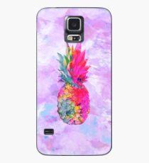 Bright Neon Hawaiian Pineapple Tropical Case/Skin for Samsung Galaxy