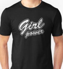 Vintage Girl Power Tshirt, Feminist Gift, Distressed Girl Power Feminism Tee Shirt, Feminist Shirt, Tumblr Clothing Gift Unisex T-Shirt