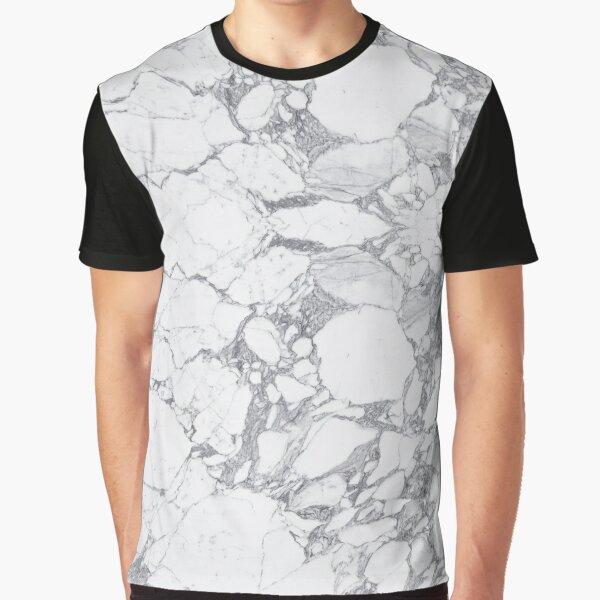 Modern Marble Pattern Graphic T-Shirt