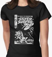 SILVER SURFER- JOHN BUSCEMA Womens Fitted T-Shirt