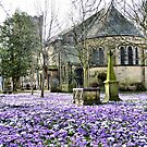 St Chads Poulton-Le-Fylde  by Lilian Marshall