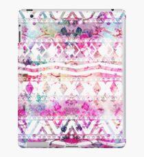 Vinilo o funda para iPad Modern aztec pattern watercolor floral nebula