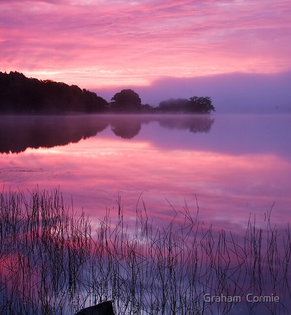 loch Achray by Graham  Cormie