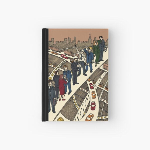 Working City Hardcover Journal