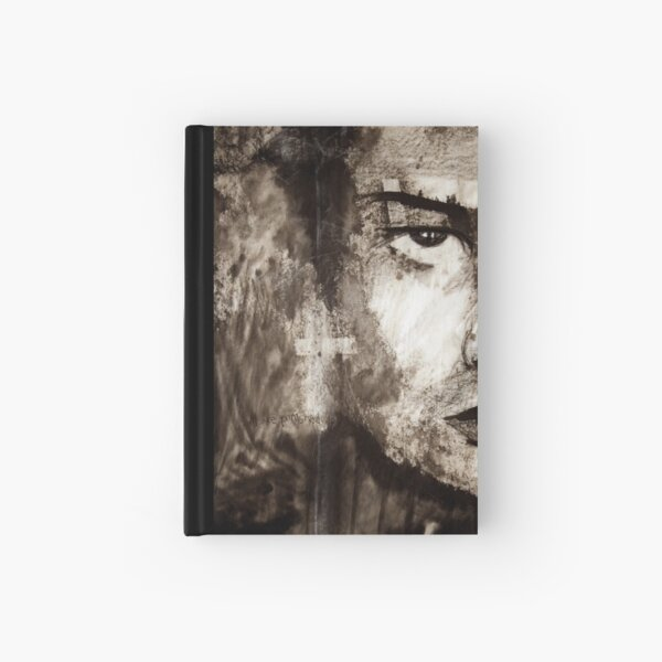 portrait of Simon John Ritchie Hardcover Journal