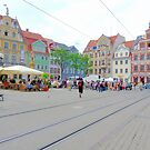 Fischmarkt, Erfurt, Thuringia, Germany by Paul Dominic Gray