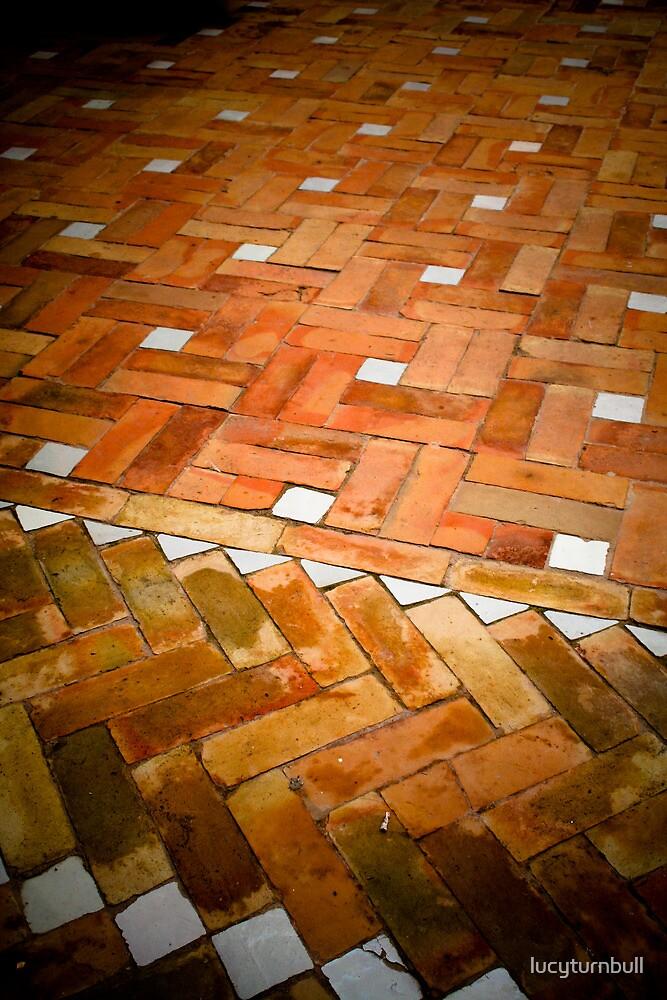 Riad floor, Marrakech by lucyturnbull