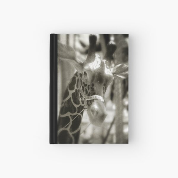 Merry-Go-Giraffe Hardcover Journal
