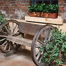 Old wheels by Anna D'Accione