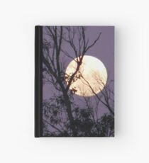 Moon in Gemini Hardcover Journal