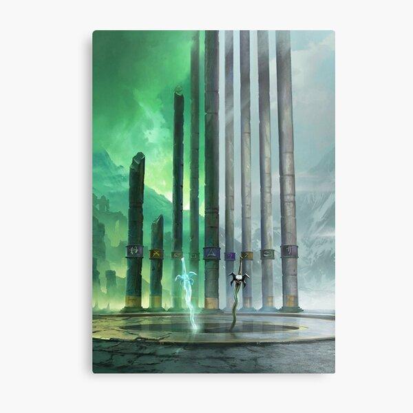 Legacy of Kain: The Pillars Metal Print