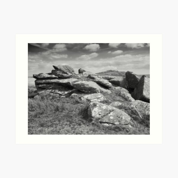 View of Brown Willy Tor Art Print