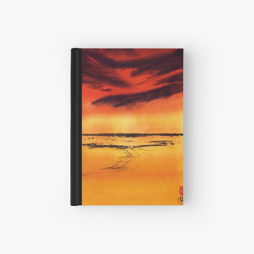 Desert Heat Hardcover Journal
