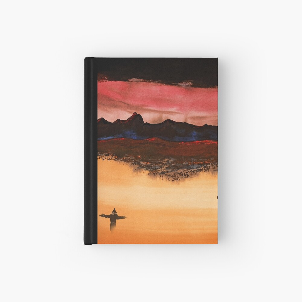 Mountain Fire Hardcover Journal
