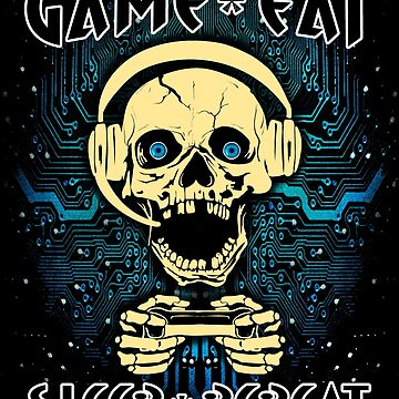 Game Eat Sleep Repeat Video Game Player Gaming Gifts  by vince58