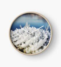 British Frost #4 Clock