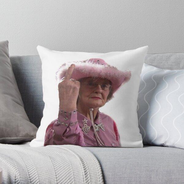 Doris Gavin & Stacey Middle Finger Throw Pillow