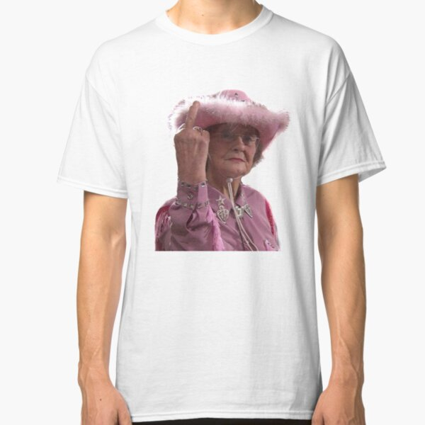 Doris Gavin & Stacey Middle Finger Classic T-Shirt