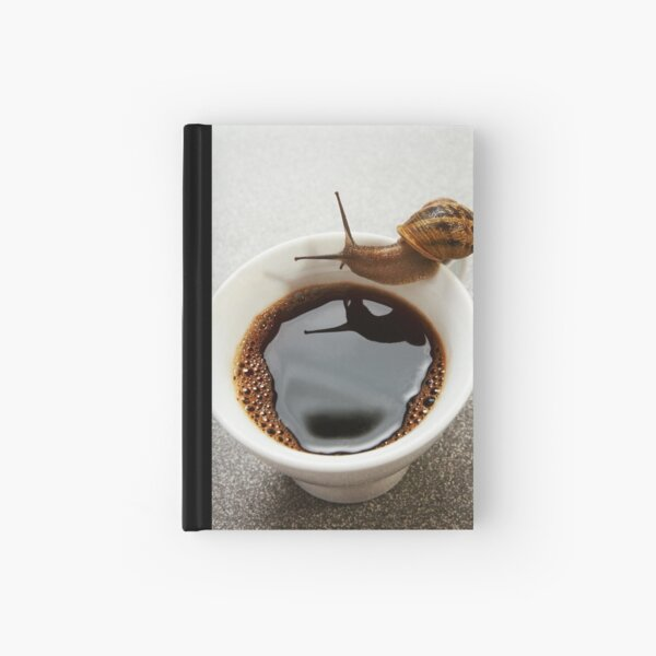 Morning thirst Hardcover Journal