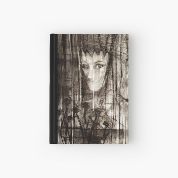 portrait of Lydia and friend Hardcover Journal