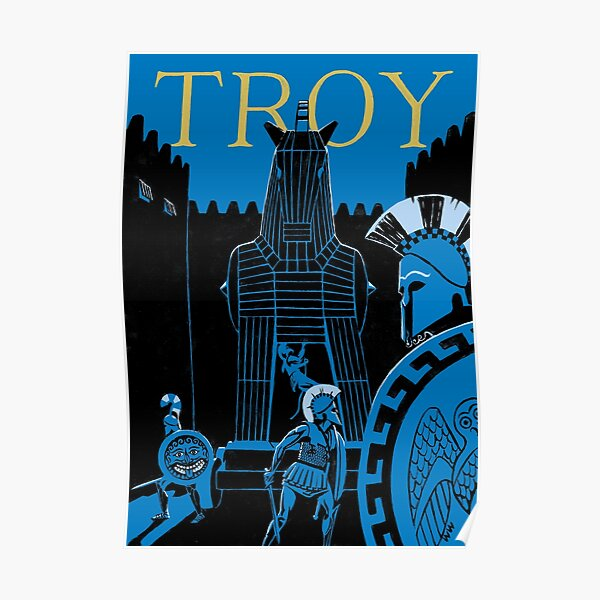 Troy - the Trojan Horse Poster