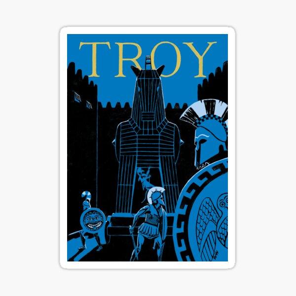 Troy - the Trojan Horse Sticker