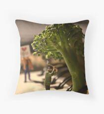 Environmental Impact Throw Pillow