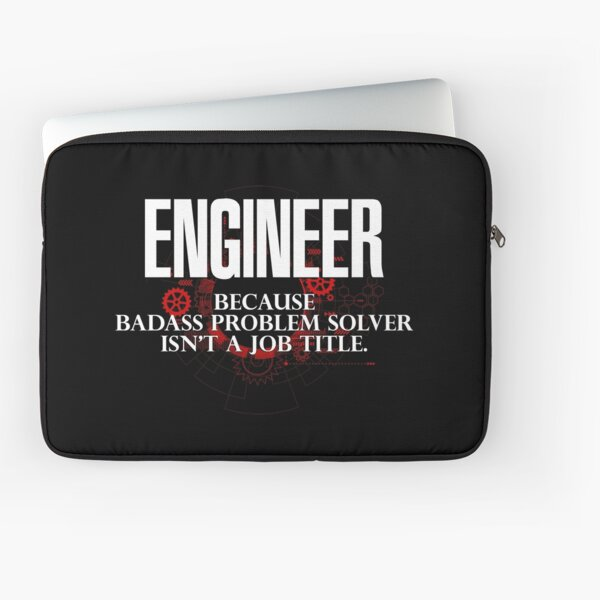 Badass Engineer Laptop Sleeve