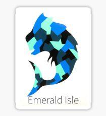 Emerald Isle Mahi Sticker