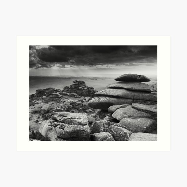 On Roughtor West, Bodmin Moor Art Print