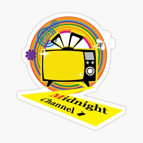 midnightchannel4 Sticker