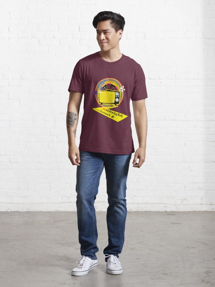 Alternate view of midnightchannel4 Essential T-Shirt