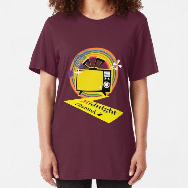 midnightchannel4 Slim Fit T-Shirt