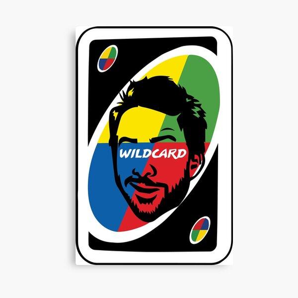Wildcard Canvas Print