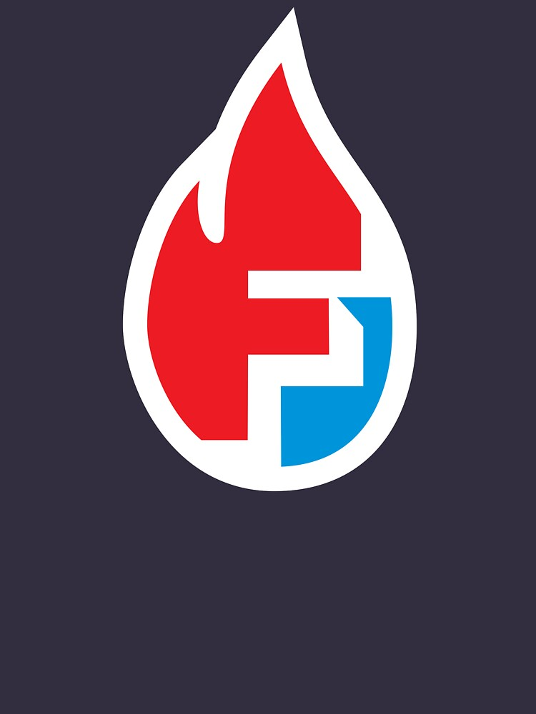 Fire Flame Superhero Letter F by DOODL