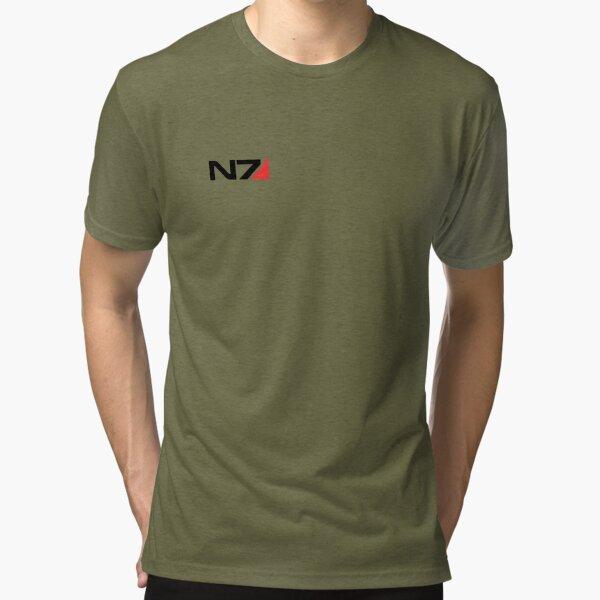 N7 Mass Effect Tri-blend T-Shirt
