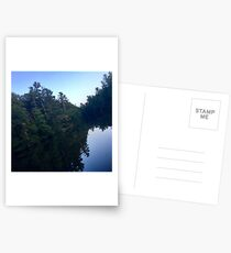 Reflections on a Lake Postcards