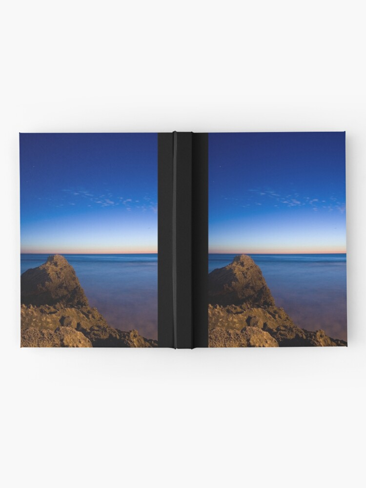 Alternate view of Indian Ocean at Dusk Hardcover Journal