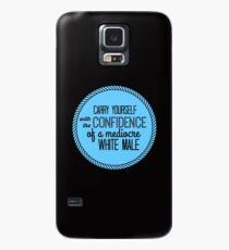 Vertrauen eines mittelmäßig weißen Mannes Hülle & Klebefolie für Samsung Galaxy