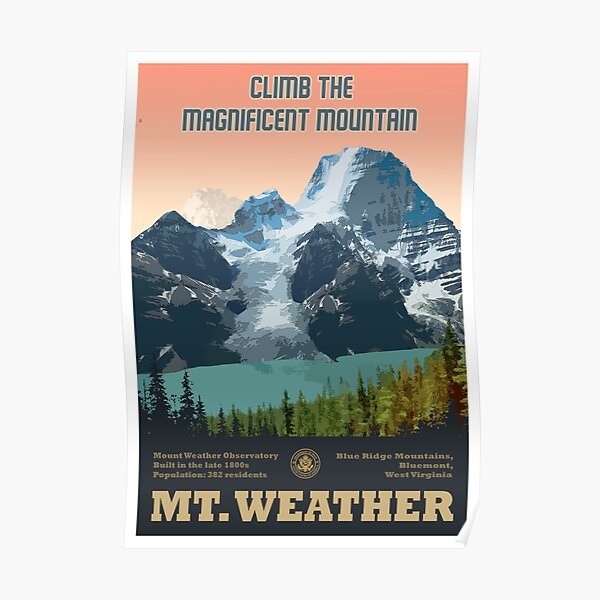 Mt.Weather Poster