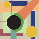 Abstract geometric composition study- Space by Valentina Kolar