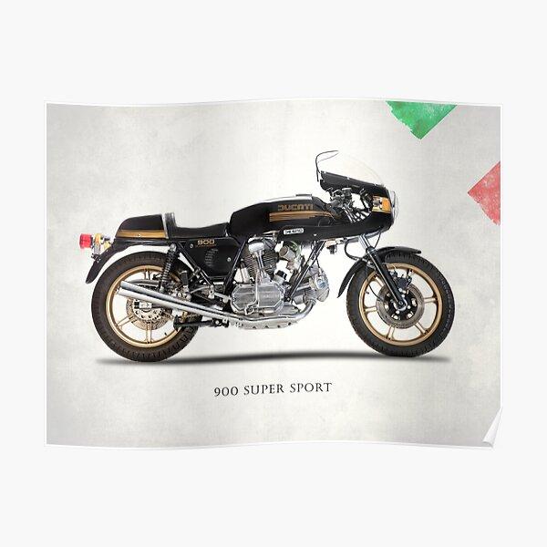 La moto 900 Super Sport Classic Poster