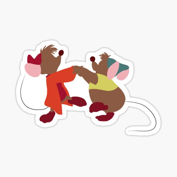 Dancing Mice Sticker