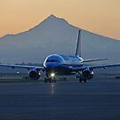 Portland Oregon sunrise departure by Bob Hortman