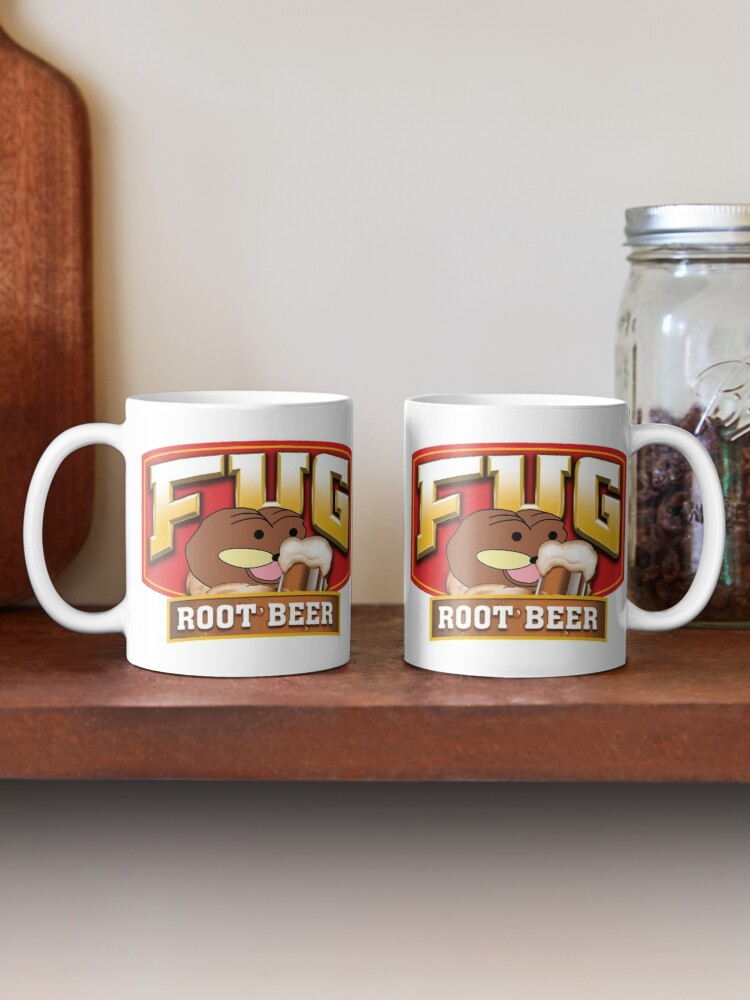 Quot Fug Root Beer Quot Mug By Squidcase Redbubble